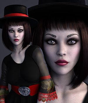 MbM Lydia for Genesis 3 and 8 Female 3D Figure Assets Heatherlly