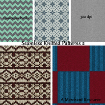 Seamless Knitted Patterns 2 image 1
