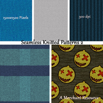 Seamless Knitted Patterns 2 image 2