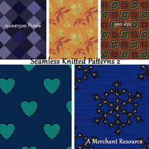 Seamless Knitted Patterns 2 image 3