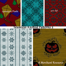 Seamless Knitted Patterns 2 image 4