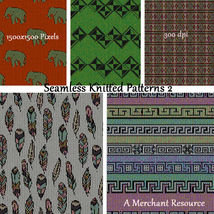 Seamless Knitted Patterns 2 image 5