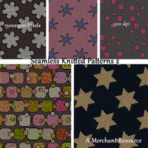 Seamless Knitted Patterns 2 image 6