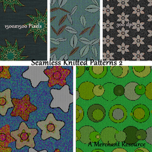 Seamless Knitted Patterns 2 image 7
