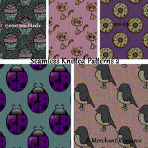 Seamless Knitted Patterns 2 image 8