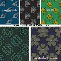 Seamless Knitted Patterns 2 image 9