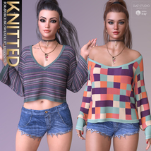 Knitted for dForce Big SweatrZ G3F G8F image 6