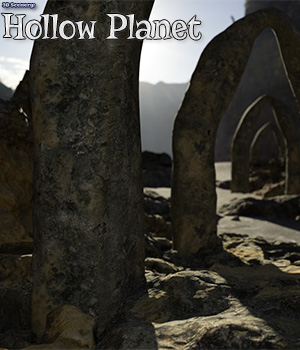 3D Scenery: Hollow Planet 3D Models ShaaraMuse3D