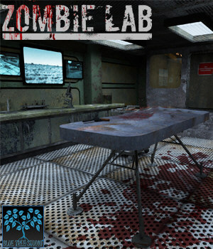 Zombie Lab for Poser 3D Models BlueTreeStudio