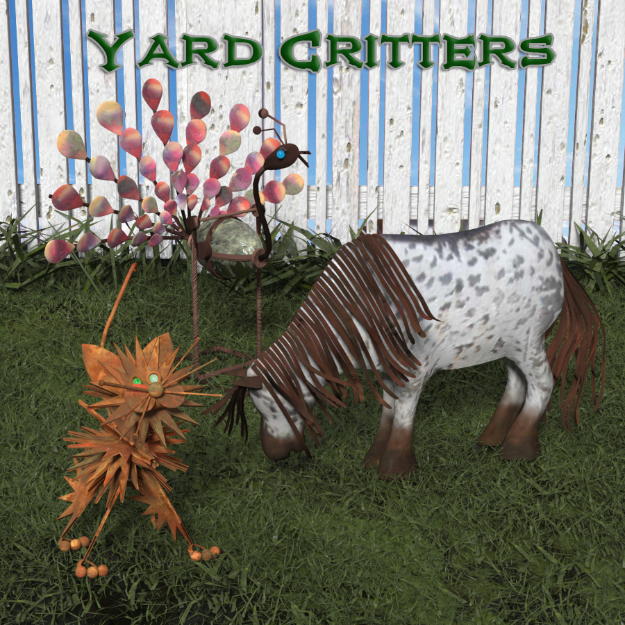 Yard Critters by anniemation