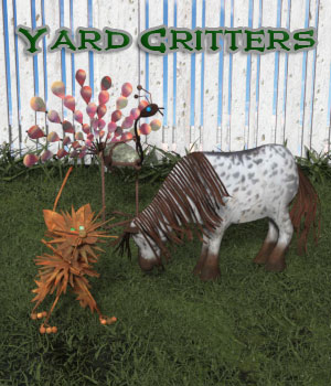 Yard Critters 3D Models anniemation