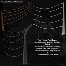 AtoZ DetailTime Cable Fences II v1 for Poser with OBJs image 3