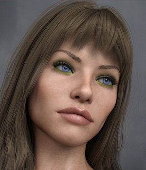 KrashWerks DESIREE for Genesis 8 Female 3D Figure Assets KrashWerks