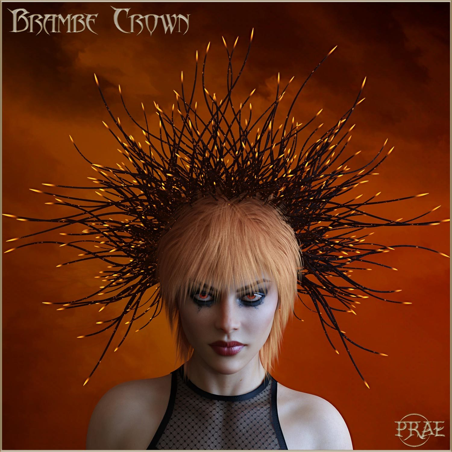 Prae-Bramble Crown For G3 G8 Daz by prae