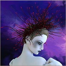 Prae-Bramble Crown For G3 G8 Daz image 5