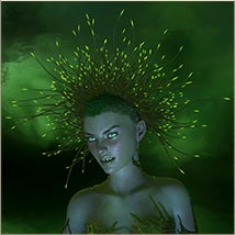 Prae-Bramble Crown For G3 G8 Daz image 6