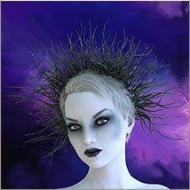 Prae-Bramble Crown For G3 G8 Daz image 7