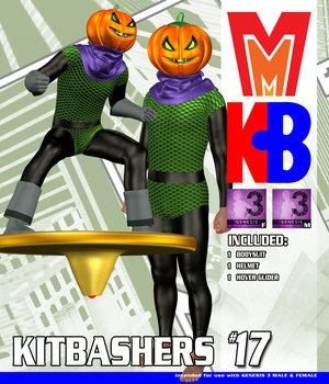Kitbashers 017 MMG3M 3D Figure Assets MightyMite