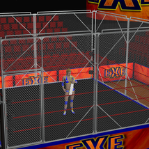Cages 2 for Dex's Wrestling Set (poser 7+) image 4
