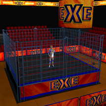 Cages 2 for Dex's Wrestling Set (poser 7+) image 6
