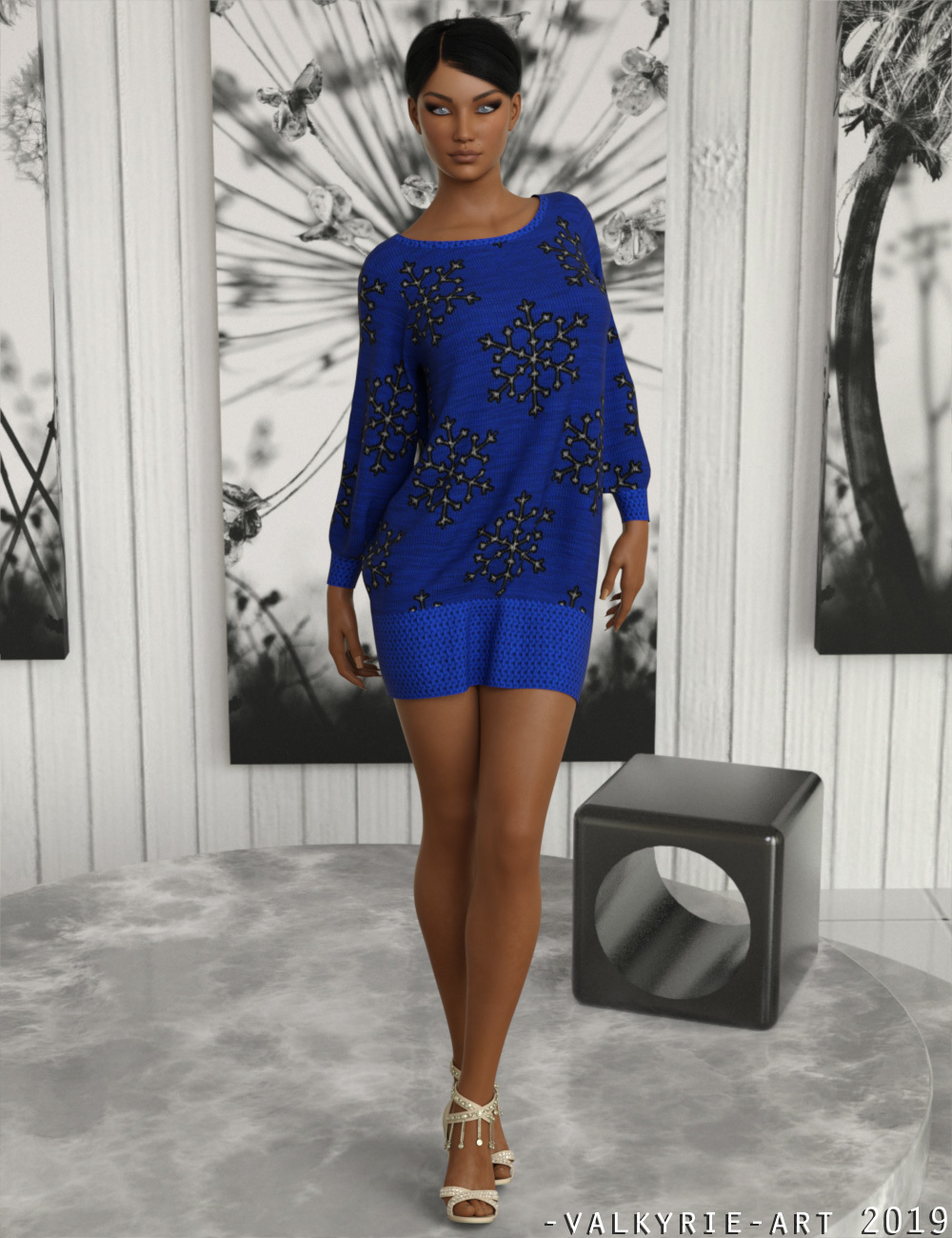 InStyle - dforce ComfySweater G8F by -Valkyrie-