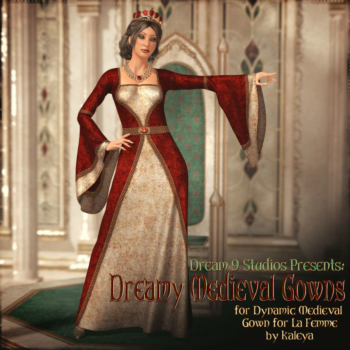 Dreamy Medieval Gowns for La Femme by Dream9Studios