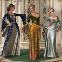 Dreamy Medieval Gowns for La Femme image 1