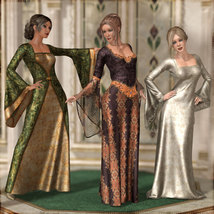 Dreamy Medieval Gowns for La Femme image 2
