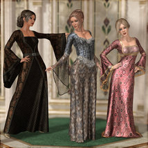 Dreamy Medieval Gowns for La Femme image 3