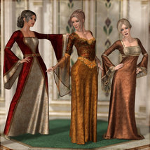 Dreamy Medieval Gowns for La Femme image 4