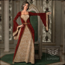 Dreamy Medieval Gowns for La Femme image 6