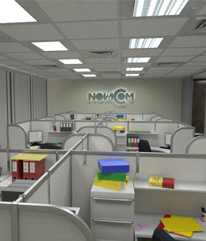 Cubicle Office 3D Models coflek-gnorg