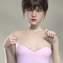 Merlot Outfit for Genesis 8 Female image 1