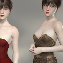 Merlot Outfit for Genesis 8 Female image 2