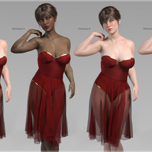 Merlot Outfit for Genesis 8 Female image 6