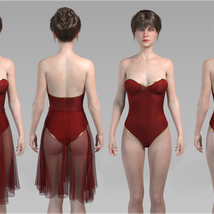 Merlot Outfit for Genesis 8 Female image 7