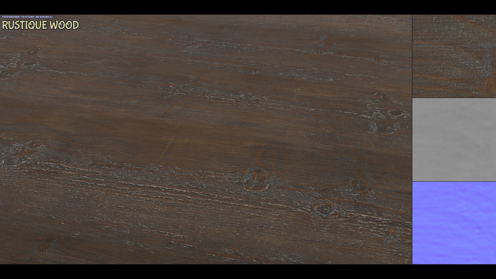 Panoramic Texture Resource: Rustique Wood by ShaaraMuse3D