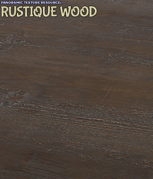 Panoramic Texture Resource: Rustique Wood 2D Graphics ShaaraMuse3D