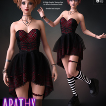 Apathy for dForce Emotions Outfit G8F image 4