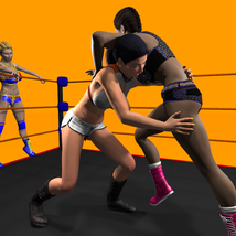 Tag Team Wrestling Poses for V4 image 6
