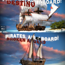 Pirates, All Aboard!BUNDLE for DS image 1