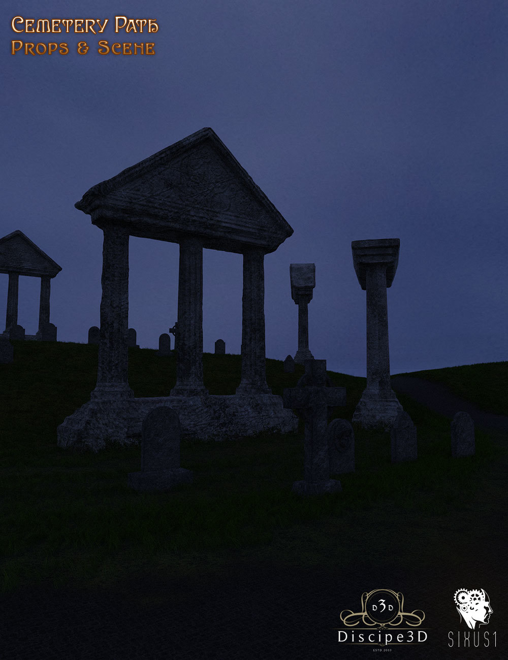 Cemetary Path by Disciple3d