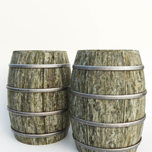 Photo Props: Wooden Barrels - Extended License image 2