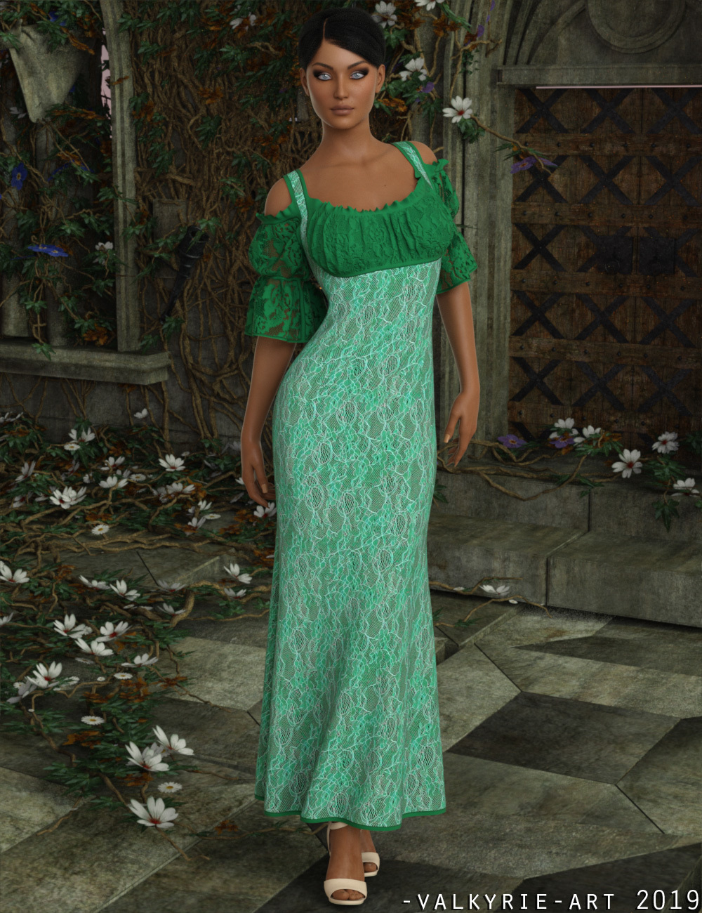 InStyle - dForce - Rosamund Gown for G8F by -Valkyrie-