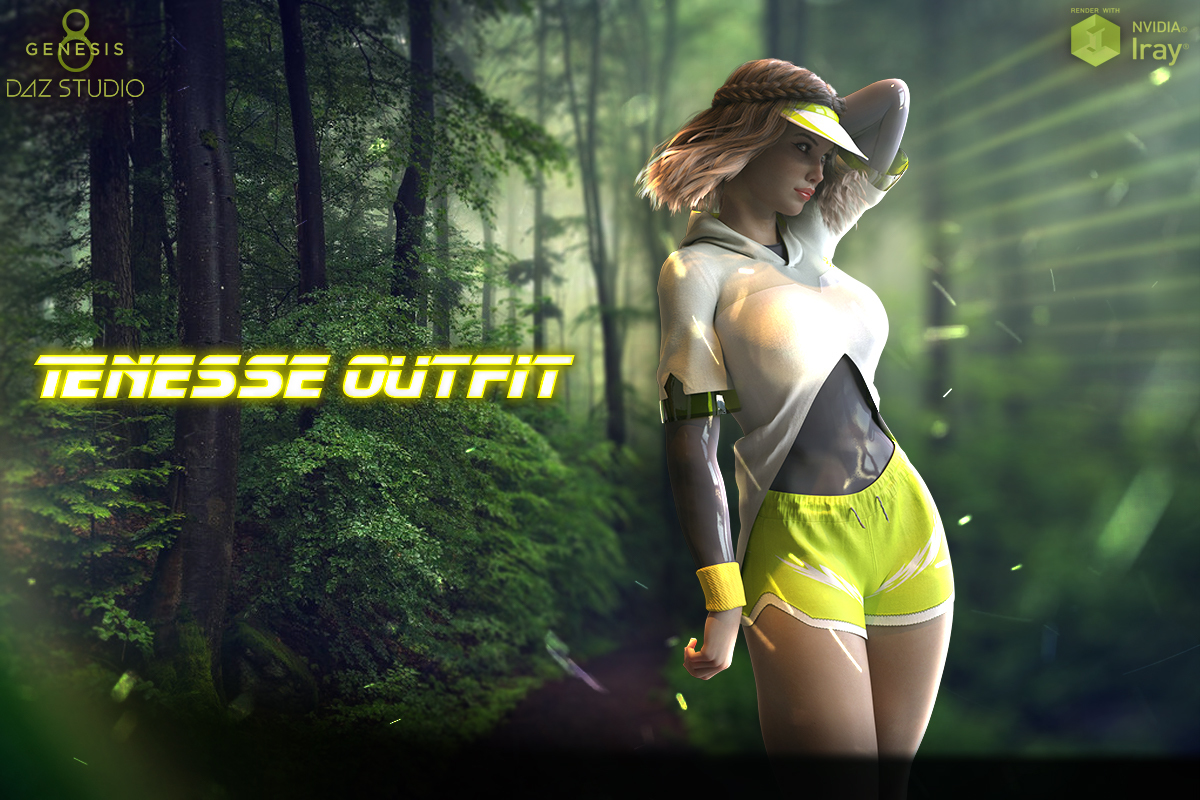 Tenesse Outfit For Genesis 8 Females by Man7a