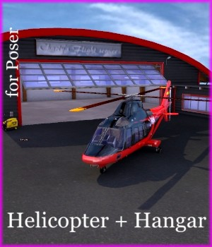 Helicopter A109 3D Models mausel