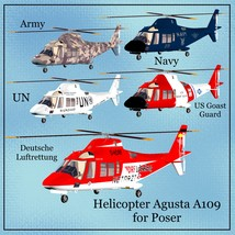 Helicopter A109 image 3