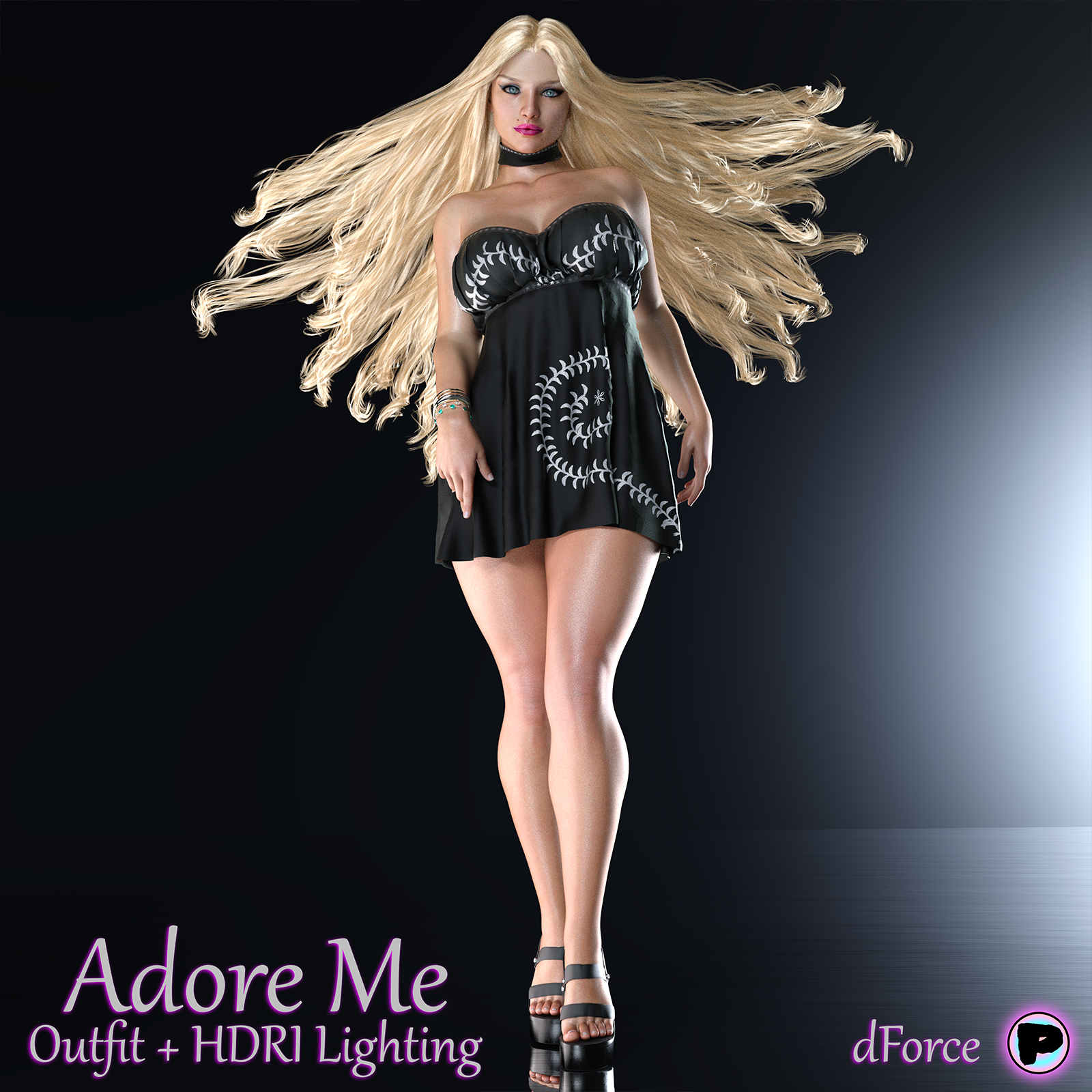 Adore Me Outfit by Parallax3DArt