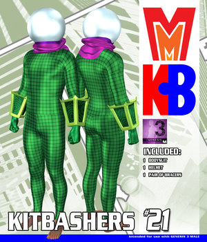 Kitbashers 021 MMG3M 3D Figure Assets MightyMite