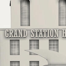 Steampunk Grand Station for Daz image 8